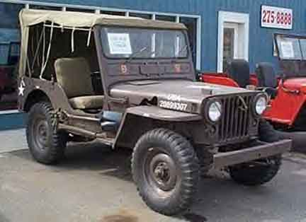 This is what the same jeep looks like when it is restored to full ...