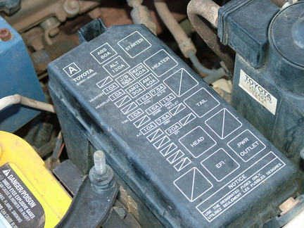 DSCF3269 toyota tacoma fuse box toyota tacoma drivers side fuse box \u2022 free 92 toyota pickup fuse box diagram at crackthecode.co